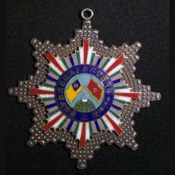 CHINE : médaille militaire chinoise  inconnue N°0116  (Copie sur métal en émail)