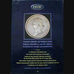 1. CATALOGUE DNW PIÈCES, MÉDAILLES, BILLETS JUIL 2005 (C83)