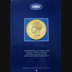 1. CATALOGUE DNW PIÈCES, MÉDAILLES, BILLETS NOV 2000 (C83)