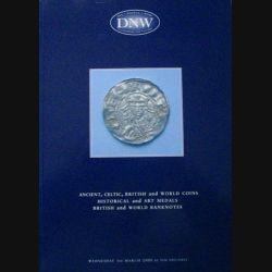1. CATALOGUE DNW PIÈCES, MÉDAILLES, BILLETS MARS 2000 (C83)