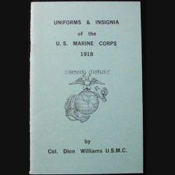 1. UNIFORMES ET INSIGNES DE L'US MARINE CORPS 1918 (C90)