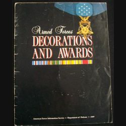 0. ARMED FORCES DECORATIONS AND AWARDS DEPT OF DEFENSE 1989 (C90)