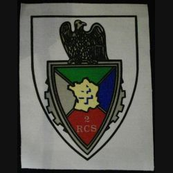 2° RCS : 2° RÉGIMENT DE COMMANDEMENT ET DE SOUTIEN TISSU