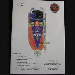 0. Catalogue de l'amicale du 35°RAP de juin 2010 sur les insignes parachutistes et de promotions