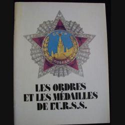 0. LES ORDRES ET LES MÉDAILLES DE L'URSS MOSCOU 1990 (FRANÇAIS)