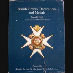 0. BRITISH ORDERS, DECORATIONS AND MEDALS BY DONALD HALL (C87)