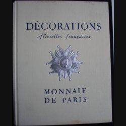 0. DÉCORATIONS OFFICIELLES FRANÇAISES 1956 (MONNAIE DE PARIS) (82)