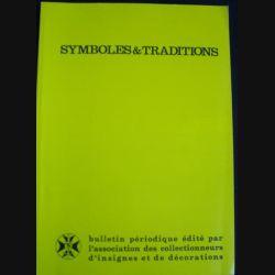 0. SYMBOLES & TRADITIONS BULLETIN N°195 JUILLET AOÛT SEPT 2005 : Histoire des écoles d'enfants de troupe à travers leurs insignes (C95)
