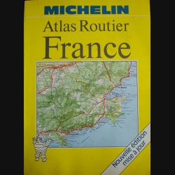0. ATLAS ROUTIER FRANCE MICHELIN EDITION 1988