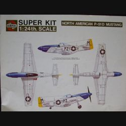 0. FASCICULE SUPER KIT NORTH AMERICAN P-51 D MUSTANG AIRFIX (C90)