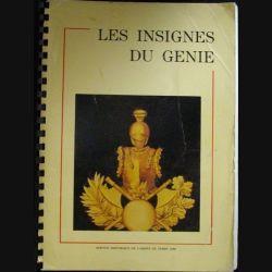0. Livres Les insignes du Génie Major DUPIRE 1986 Textes et 39 planches de photos couleur relié par un tube spiralé (C81)