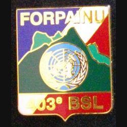 403°BSL : 403°BATAILLON DE SOUTIEN LOGISTIQUE FORPAINU