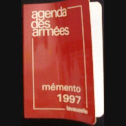1. AGENDA DES ARMÉES MÉMENTO 1997 (C85)