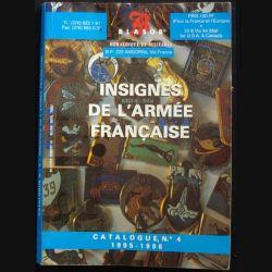 0. Catalogue de cotation des insignes de l'armée française N°4 BLASOR 1995-1996 (C94)