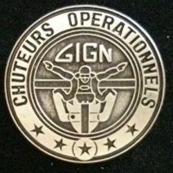 GIGN :  Brevet des chuteurs opétrationnels du groupe d'intervention de la gendarmerie nationale GIGN JMM INSIGNES
