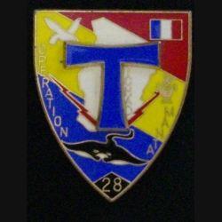 28° RT : 28° RÉGIMENT DE TRANSMISSIONS MANTA TCHAD 51mm