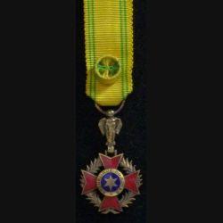 TCHAD : OFFICIER ORDRE NATIONAL TCHADIEN RÉDUCTION VERMEIL
