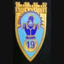 19° RG : 19° RÉGIMENT DU GÉNIE (DRAGO 215) ÉMAIL