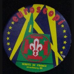 MÉDAILLE DES SCOUTS DE FRANCE EUROSCOPI STRASBOURG 89