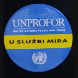 UNPROFOR : UNITED NATIONS PROTECTION FORCE  U SLUZBI MIRA