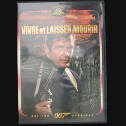 DVD : VIVRE ET LAISSER MOURIR JAMES BOND 007 (ROGER MOORE) (C64)