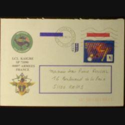 ENVELOPPE DIVISION SALAMANDRE (BUREAU POSTAL MILITAIRE 660)