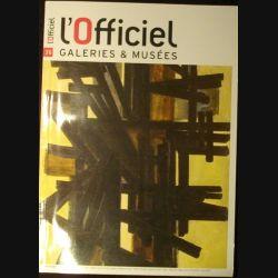 1. L'OFFICIEL GALERIES & MUSÉES N°36 SEPTEMBRE-OCTOBRE 2009 (C74)