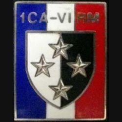 1° CA-VI° RM : 1° CORPS D'ARMÉE VI° RÉGION MILITAIRE de fabrication Drago G.2494