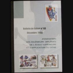 AIDESAG : bulletin de liaison n°63 de décembre 2008 de l'association des ingénieurs diplômés de l'école supérieure et d'application du génie (C86)