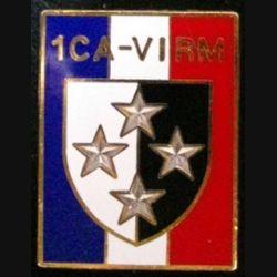 1° CA-VI° RM : 1° CORPS D'ARMÉE VI° RÉGION MILITAIRE de fabrication Ballard