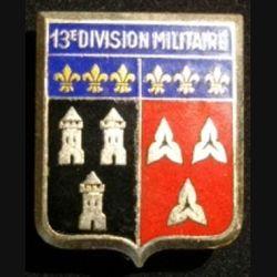13° DM : 13° DIVISION MILITAIRE ÉMAIL (DRAGO)