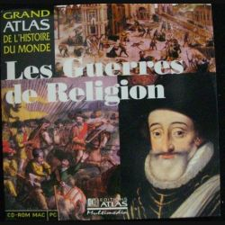 CD ROM MAC PC : LES GUERRES DE RELIGION (C90)