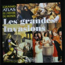 CD ROM MAC PC : LES GRANDES INVASIONS (C90)