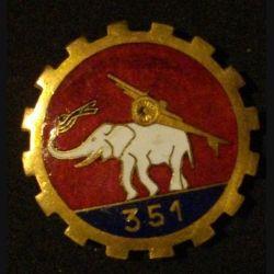 351°RALP : 351°RÉGIMENT D'ARTILLERIE LOURDE PORTEE ÉMAIL (EDET)