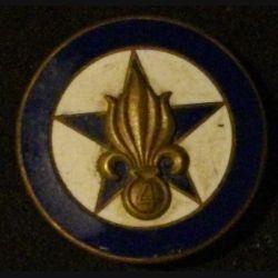 4° REI : compagnie régimentaire du 4° régiment étranger d'infanterie Drago en émail (infimes éclats surfaciques)