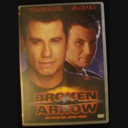 DVD : BROKEN ARROW DE JOHN WOO AVEC TRAVOLTA ET SLATER (C64)