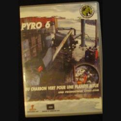 DVD : PYRO 6 DE PRO NATURA INTERNATIONAL SUR LE CHARBON VERT (C64)