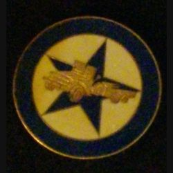 4° REI : insigne de la 3° compagnie portée du 4° régiment étranger d'infanterie Drago R 84