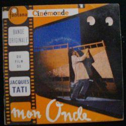DISQUE 45 TOURS : BANDE ORIGINALE DU FILM DE J. TATI MON ONCLE (C72)