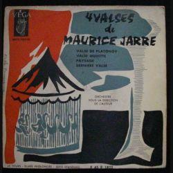 DISQUE 45 TOURS : 4 VALSES DE MAURICE JARRE N°45 P 1822 (C72)