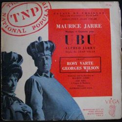 DISQUE 33 (TAILLE 45) TOURS : MAURICE JARRE UBU ALFRED JARRY (C72)