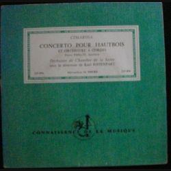 DISQUE 33 (TAILLE 45) TOURS : CIMAROSA CONCERTO POUR HAUBOIS (C72)