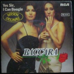 DISQUE 45 TOURS : BACARA YES SIR, I CAN BOOGIE N°PB 5526 (C72)