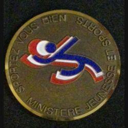 SPORTEZ-VOUS BIEN (DIAMÈTRE 5 cm) MINISTERE JEUNESSE ET SPORTS