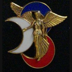 3° DB : insigne métallique de la 3° division blindée (EX 3° DIA) N°390 de fabrication Balme