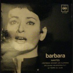 DISQUE 45 TOURS : BARBARA NANTES N°EP5645 (C72)