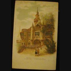 CARTE POSTALE : EXPOSITION UNIVERSELLE DE 1900 PORTE ST MICHEL