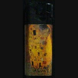 BRIQUET : GUSTAV KLIMT THE KISS 1907/08 N°1/5 (USAGÉ)