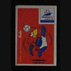 BOITE D'ALLUMETTES : COUPE DE FRANCE FOOTBALL 1998 (USAGÉ)