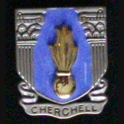 EMIC : insigne métallique de l'école militaire d'infanterie de Cherchell de fabrication Boussemart 2009 réédition
